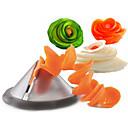 baratos Utensílios de Fruta e Vegetais-Utensílios de cozinha Aço Inoxidável Início ferramenta da cozinha / Faça Você Mesmo Peeler & Grater / Fatiador Vegetais / Cenoura / Pepino 1pç