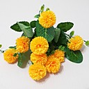 abordables Flores Artificiales-Flores Artificiales 1 Rama Estilo moderno Crisantemo Flor de Mesa