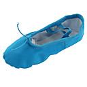 abordables Zapos de Ballet-Mujer Ballet / Zapatillas de Ballet / Yoga Tela Plano Tacón Plano No Personalizables Zapatos de baile Azul / Interior