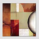 baratos Pinturas Abstratas-Pintura a Óleo Pintados à mão - Abstrato Estilo Europeu Modern Tela de pintura