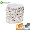 hesapli LED Çift-Pimli Işıklar-SENCART 2m Esnek LED Şerit Işıklar 240 LED'ler 3528 SMD Sıcak Beyaz / Beyaz Uzaktan Kontrol / Kesilebilir / Kısılabilir 12 V / Bağlanabilir / Araçlar İçin Uygun / Kendinden Yapışkanlı