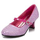 preiswerte Mädchenschuhe-Mädchen Schuhe Stretch - Satin Frühling Sommer High Heels Schnalle für Rosa / Silber / Gold / Hochzeit / Party & Festivität