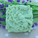 billige Veggklistremerker-bee blomster håndlaget såpe Form  kake sjokolade silikon Form, dekorasjon verktøy bakeredskap