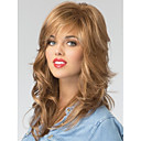 cheap Human Hair Capless Wigs-High Quality Capless Long  Wavy Mono Top Virgin Remy  Human Hair Wigs 7 Colors to Choose