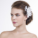 cheap Party Headpieces-Organza Flowers 1 Wedding Special Occasion Headpiece