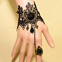 preiswerte Modische Armbänder-Damen Kristall Ring-Armbänder - Krystall, Spitze damas, Retro, Party, Spitze, Europäisch Armbänder Schmuck Schwarz Für Hochzeit Party