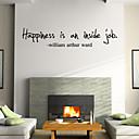 preiswerte Wand-Sticker-Worte & Zitate Cartoon Design Wand-Sticker Worte & Zitate Wandaufkleber Dekorative Wand Sticker, Vinyl Haus Dekoration Wandtattoo Wand