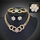 cheap Earrings-Women's Silver Jewelry Set - Ladies Include For Wedding Party Special Occasion
