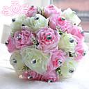 """رخيصةأون أزهار الزفاف-زهور الزفاف باقات زفاف حصى البوليستر ستان الفوم 11.02""""(Approx.28cm)"""