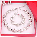 cheap Women's Flats-Women's Others Jewelry Set Earrings / Necklace / Bracelets - Regular For Wedding / Party / Special Occasion