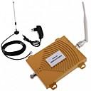 abordables Amplificateur de Signal Mobile-nouveau gsm wcdma 900 / 2100MHz kit d'antenne amplificateur de signal de mobile double bande