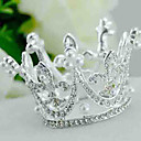 cheap Party Headpieces-Imitation Pearl / Rhinestone / Alloy Tiaras with 1 Wedding Headpiece