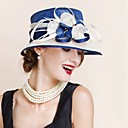 رخيصةأون قطع رأس-خوذة للمرأة القبعات زفاف/مناسبة خاصة ألياف الكتان زفاف/مناسبة خاصة 1 قطعة