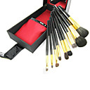 preiswerte Make-up-Pinsel-Sets-9pcs Makeup Bürsten Professional Bürsten-Satz- Ziegenhaarbürste / Künstliches Haar / Kunstfaser Pinsel Klassisch / Mittelgroße Pinsel