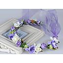 baratos Acessórios de Cabelo-Tecido Decoração de Cabelo / Grinaldas com Floral 1pç Casamento / Ocasião Especial / Casual Capacete