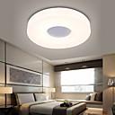 baratos Luminárias de Teto-Ecolight™ Montagem do Fluxo Luz Ambiente - LED, 90-240V, Branco Quente / Branco, Lâmpada Incluída / 5-10㎡ / Led Integrado