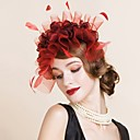 cheap Wedding Wraps-Polyester Headbands with 1 Wedding / Special Occasion Headpiece