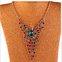cheap Necklaces-Women's Crystal Y Necklace - Crystal, Rhinestone Peacock Bohemian, Boho Necklace For Party, Daily