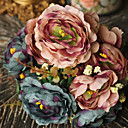 olcso Művirág-Művirágok 1 Ág Európai stílus Bazsarózsák Asztali virág