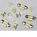 preiswerte Car Exterior Lights-SO.K 11pcs Auto Leuchtbirnen 1 W 50 lm 11 Innenbeleuchtung