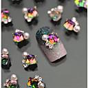 billige Rhinsten&Dekorationer-Smuk Negle kunst Manicure Pedicure Metal Klassisk Daglig / Negle smykker