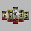 ieftine Sus Artist-Hang-pictate pictură în ulei Pictat manual - Peisaj Modern pânză