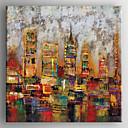 halpa Öljymaalaukset-Hang-Painted öljymaalaus Maalattu - Maisema Moderni Sisällytä Inner Frame / Venytetty kangas