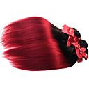 cheap Ombre Hair Weaves-1 Bundle Brazilian Hair Straight Virgin Human Hair Ombre Hair Weaves Human Hair Weaves Human Hair Extensions