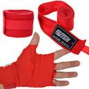 baratos Luvas de Box-Faixa para as Mãos Suporte de Mão & Punho para Taekwondo Boxe Sanda Muay Thai Karatê Arte Marcial Unisexo Ajustável Elástico Redutor de
