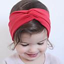 זול ילדים אביזרים לשיער-אביזרי שיער כל העונות רצועות ראש כותנה בנות - פוקסיה אדום כחול ורוד כחול ים