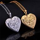 levne Náhrdelníky--  Princezna, Srdce Pravidelný Zlatá, Stříbrná Náhrdelníky Pro Svatební, Párty, Zvláštní příležitosti / Výročí / Narozeniny / Zásnuby