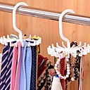 cheap Travel Bags & Hand Luggage-Adjustable 20 Hook Rotating Belt Rack Scarf Organizer Men Tie Hanger Holds