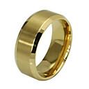 ieftine Benzi de Lumină LED-Bărbați Band Ring - Oțel titan Modă 7 / 8 / 9 / 10 / 11 Auriu Pentru Petrecere Zilnic Casual