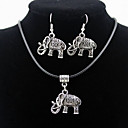 cheap Jewelry Sets-Men's / Women's Jewelry Set Earrings / Necklace - Silver For Daily / Casual