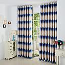 cheap Prints-Curtains Drapes Curve Polyester Jacquard