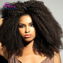 cheap Human Hair Wigs-Human Hair Glueless Lace Front / Lace Front Wig Curly / Afro Wig 120% Natural Hairline / African American Wig / 100% Hand Tied Women's Short / Medium Length / Long Human Hair Lace Wig