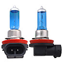 cheap Car Headlights-2pcs H11 Car Light Bulbs 55W 1300lm Halogen Headlamp
