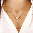 cheap Necklaces-Women's Layered Necklace - Fashion Gold Necklace For Daily
