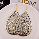 cheap Earrings-Women's Hollow Out Drop Earrings - Silver / Golden For Wedding / Party / Daily