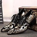 tanie Adidasy męskie-Męskie Komfortowe buty Skóra Wiosna / Lato / Jesień Oksfordki Srebrny / Złoty / Ślub / Impreza / bankiet