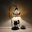 halpa Plafondit-Tiffany Rustiikki Traditionaalinen/klassinen Monivärinen Pöytälamppu Käyttötarkoitus Metalli 110-120V 220-240V