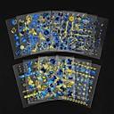 halpa Kynsisarjat ja -setit-24 pcs Nail Jewelry kynsitaide Manikyyri Pedikyyri Lovely Klassinen Päivittäin / Muovi / Kynsien korut
