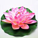 hesapli Suni Çiçek-Yapay Çiçekler 1 şube Modern Stil Lotus Yer Çiçeği