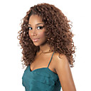 cheap Synthetic Wigs-Synthetic Wig Curly Synthetic Hair Wig Medium Length Capless