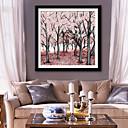 tanie Sztuka oprawiona-Oprawione płótno Zestaw w oprawie Kwiatowy/Roślinny Wypoczynek Botaniczny Wall Art, PVC (polichlorek winylu) Materiał z ramą Dekoracja