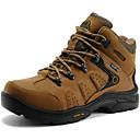 abordables Zapatillas Deportiva de Mujer-Unisex Zapatos Cuero de Napa Otoño / Invierno Confort Zapatillas de Atletismo Senderismo Marrón Claro