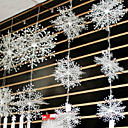 preiswerte Partyzubehör-Fenster Deko Umweltfreundliches Material 1 Weihnachten / Garten / Klassisch / Märchen