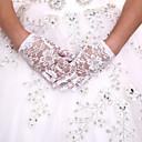 baratos Luvas de Festa-luva de comprimento de pulso de renda luvas de menina de flor estilo feminino clássico