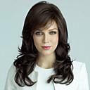 hesapli Bonesiz-İnsan Saçları Kapsız Peruklar Gerçek Saç Dalgalı Bonesiz Peruk
