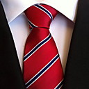 billige Tøjsæt til drenge-Herre Fest Kontor Basale Slips - Polyester Stribet